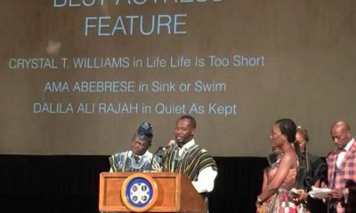 Ama K. Abebrese was adjudged Best Actress at the just-ended Newark International Film Festival 2017 held in New Jersey, USA. Her performance in the Ike Nnaebue – directed Sink or Swim film secured her that honour. The film also won the award for Best Film at the event. Sink or Swim features other top actors from the continent, including Zack Orji, Omowunmi Dada, Raymond Ofula, Adjetey Anang, Ali Nuhu, Seun Akindele, Deyemi Okanlawon, Ruth Ndulu, and Kate Marrie Williams.