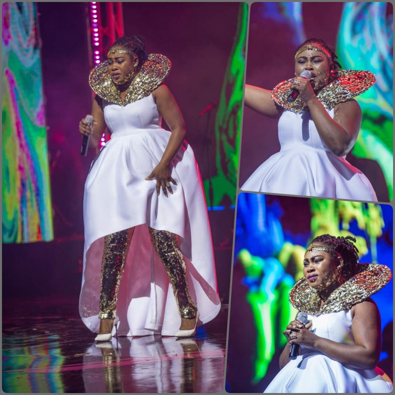 Joyce Blessing performing at Becca At 10 Concert