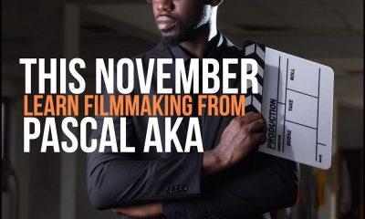 Award-winning film and music video director, Pascal Aka teaches filmmaking this November