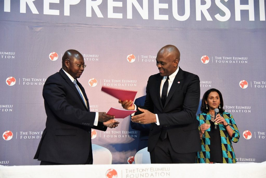 The Tony Elumelu Foundation and United Nations Development Programme (UNDP) sign MOU