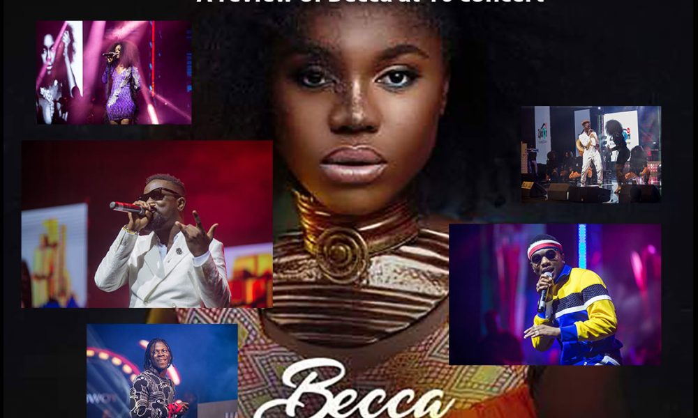 review of becca at 10 concert