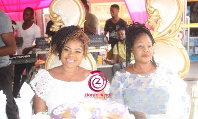 Gifty Osei Throws Big Birthday Party At Tema Market,