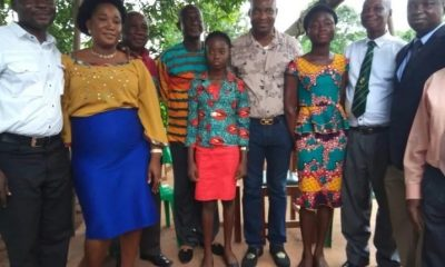 The Gyan-Darkwa family with Chairman Wontumi. Photo credit: Starrfmonline.com