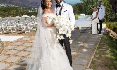Photos Banky W And Adesuwa Etomi Have Dream Destination Wedding In South Africa