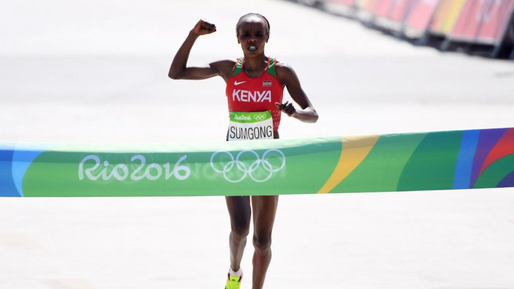 Jemima Sumgong banned for doping