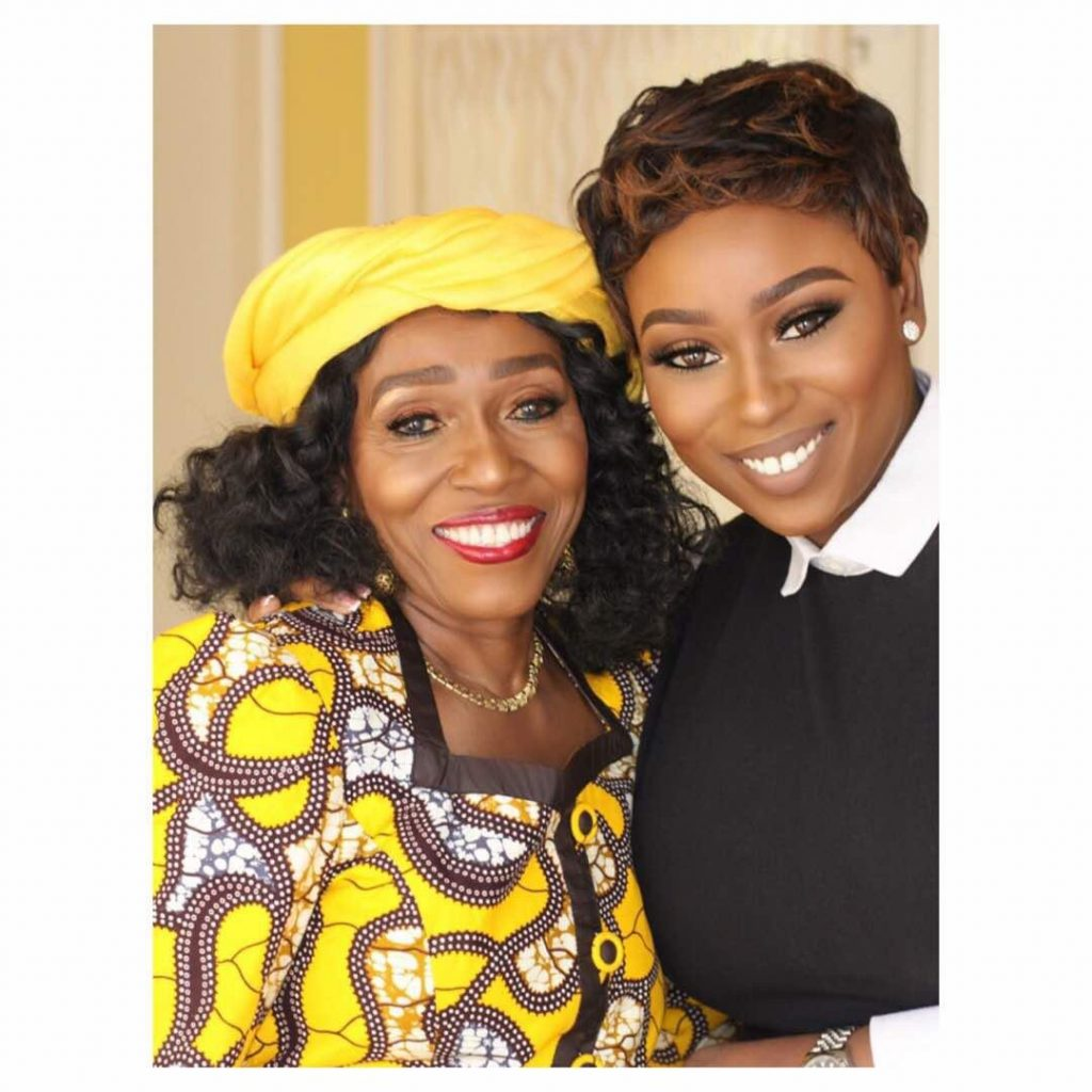 """""""I would want every female child to have the opportunity to be what they want to be"""", Former First Lady Nana Konadu Rawlings on Forbes Woman Africa """"Against The Odds with Peace Hyde""""."""
