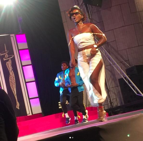 Ebony at Miss Malaika 2017