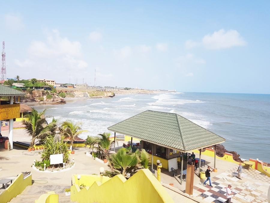 Osaka beach resort in Accra
