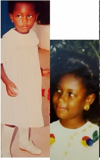 yvonne nelson childhood photo