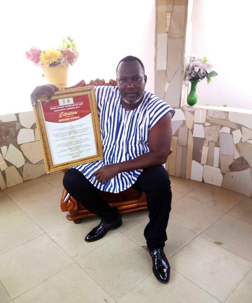 KNUST (NUGS) Honours Actor Bernard Nyarko