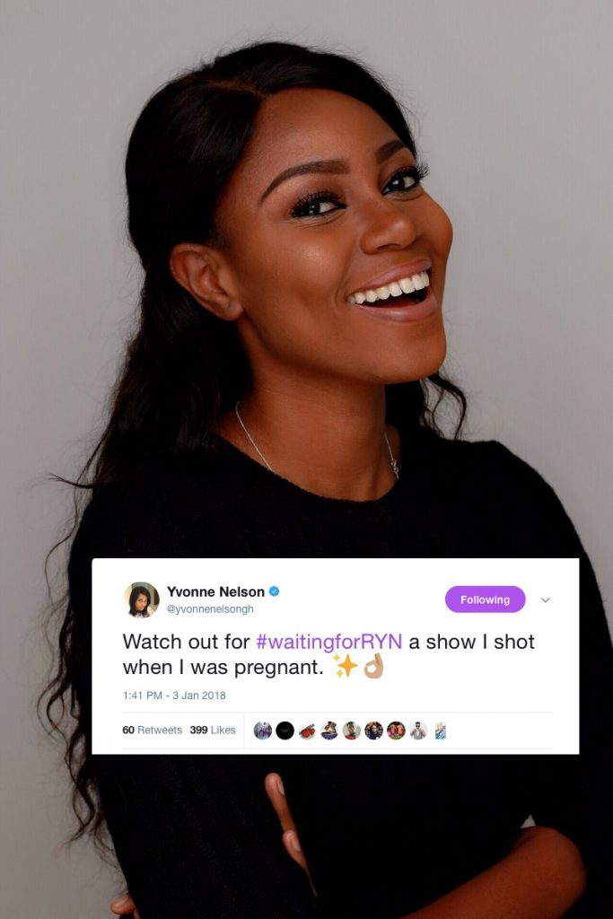 Yvonne Nelson to showcase her pregnancy journey on 'Waiting For Ryn' TV show