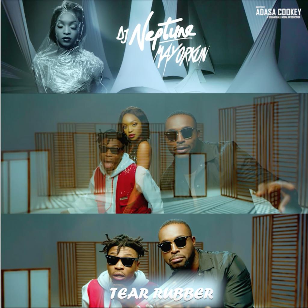 DJ Neptune Tear Rubber Music Video Featuring Mayorkun