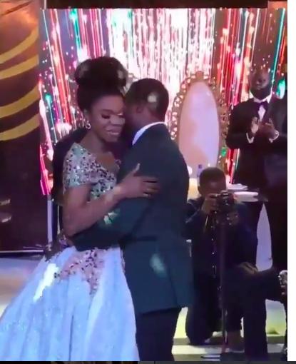 Becca and Dr Oluwatobi Sanni-Daniels.