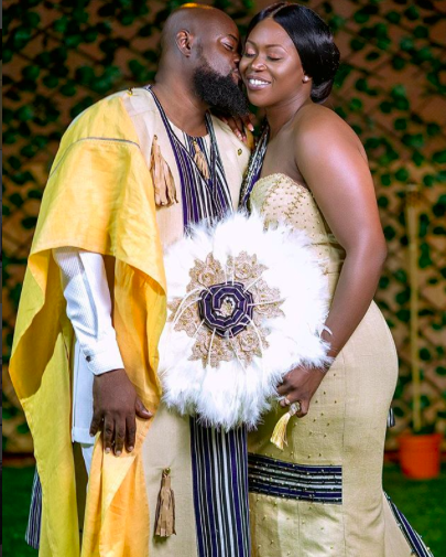 Sammy Forson marries Pearl Johnson in a traditional ceremony in Bolgatanga