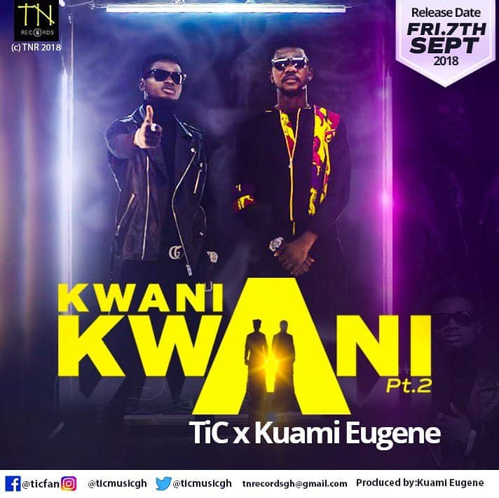 "Tic set to release ""Kwani Kwani part 2"" which features Kuami Eugene"