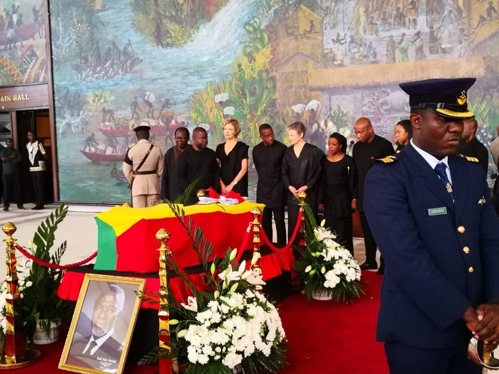 Former UN Secretary-General Kofi Annan Goes Home