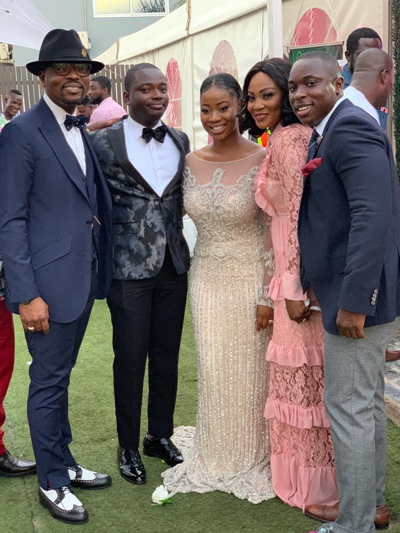 Photos: TV3 business anchor, Paa Kwesi Asare weds Naa
