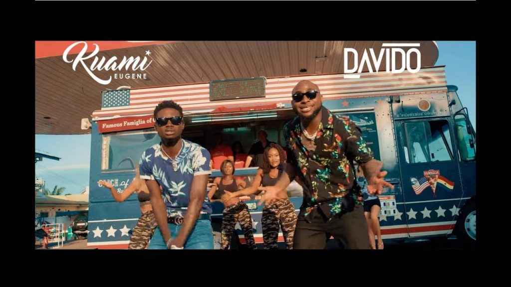 """Davido approached me for a collaboration and i respect him a lot for that""- Kuami Eugene reveals"