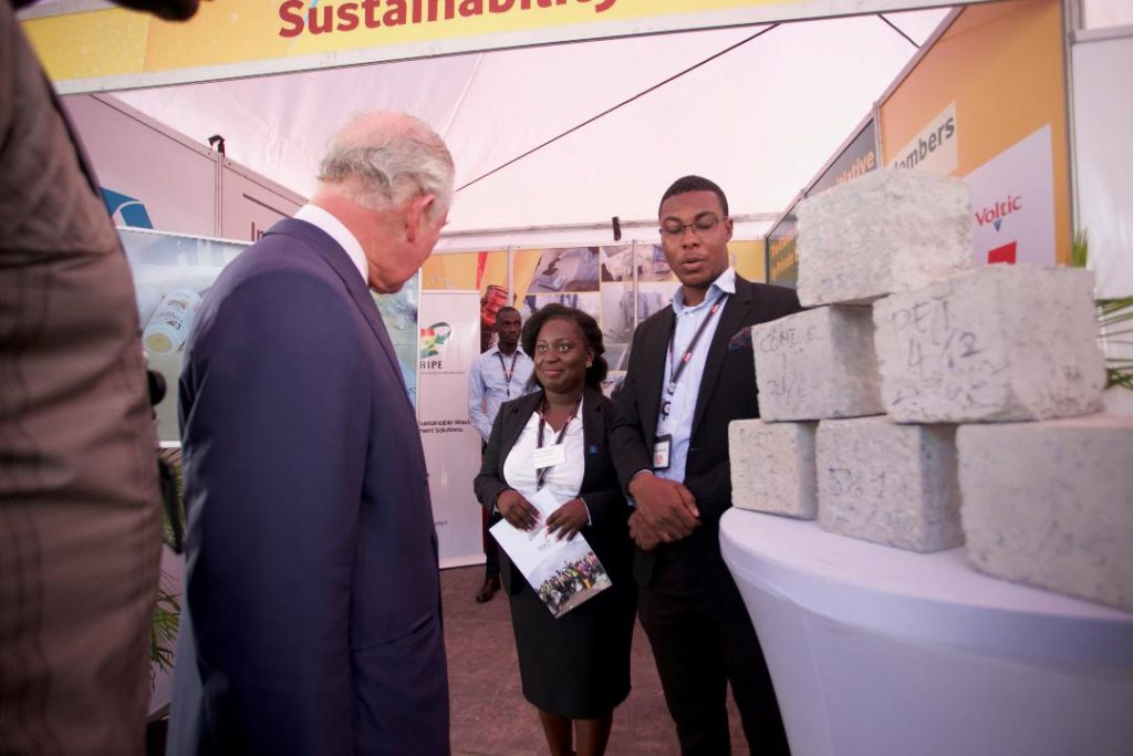 Fanmilk Showcases Pick-It project during Royal Visit