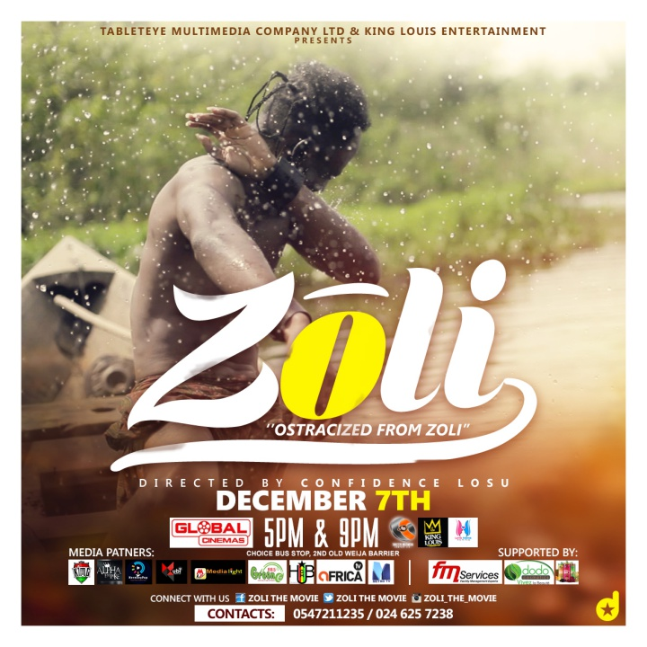 Zoli, a movie set in ancient African Culture and heritage premieres December 7