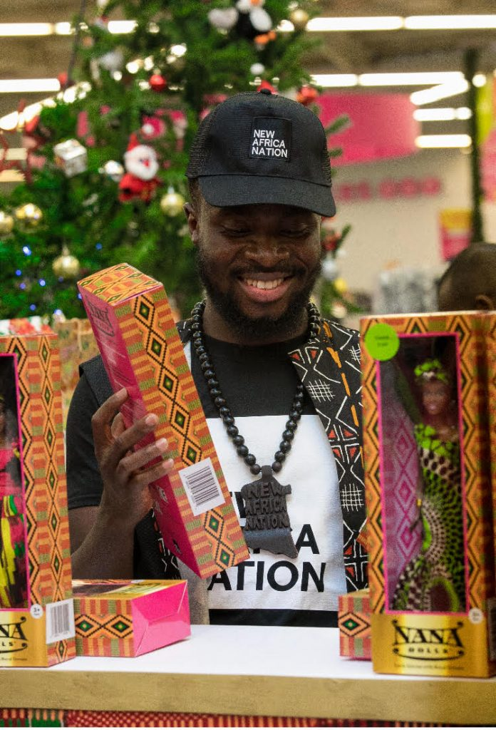 """Fuse ODG launches beautiful line of black dolls, """"Nana Dolls"""" at Game, Accra Mall"""