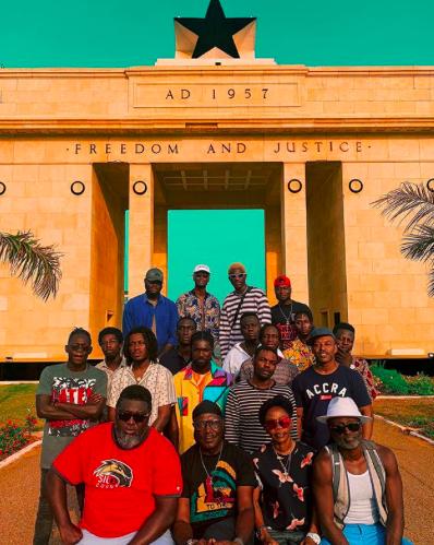 Ghanaian photographer captures the journey of Ghanaian music for Apple