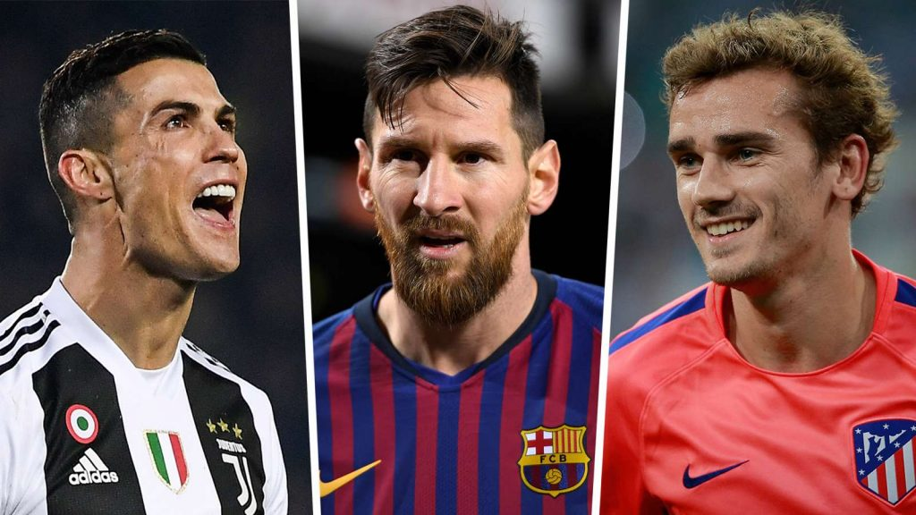 Messi tops the new list of the highest-paid footballers in the world.