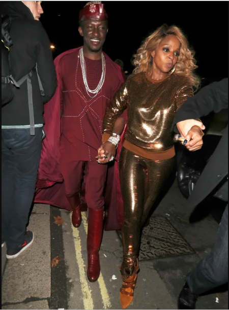 US media confuses Nana Kwame Bediako as Mary J Blige's new boyfriend.