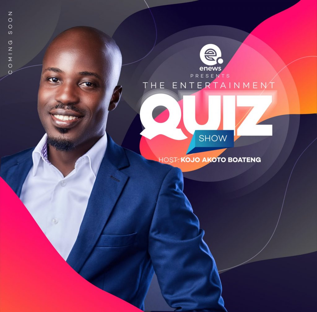 Akoto Boateng hosts Ghana's first Entertainment Quiz Show